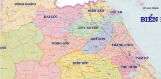 Bản đồ diệt mối tại Quảng Nam