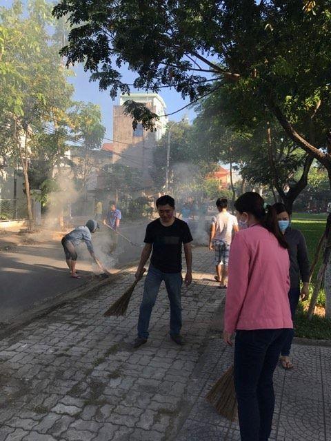 """Tổng vệ sinh nhân ngày """"Môi trường thế giới """" tại Đà Nẵng"""