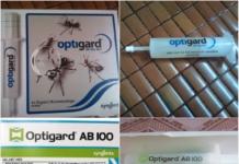 Bán thuốc diệt kiến tận gốc tại Đà Nẵng - Optigard AB 100 dạng gel